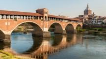 """Da Lavena Ponte Tresa a Pavia lungo la via Francisca del Lucomagno: al via """"pellegrini""""da tutta Europa"""