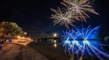 Spettacolo pirotecnico a Sesto Calende: attesa per il principale evento estivo della cittá