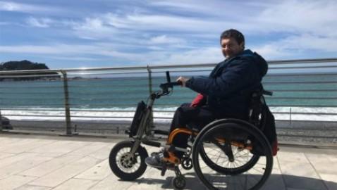 """Gianfranco, disabile, racconta il suo viaggio in carrozzina a Berlino e Oslo: """"Verificheró l'accessibilitá nelle grandi cittá del Nord"""""""