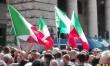 """Movimento Nazionale per la Sovranitá scende in piazza: """""""