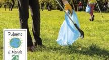 Puliamo il Mondo,  con volontari di Legambiente pulizia rifiuti lago di Varese e boschi varesotto