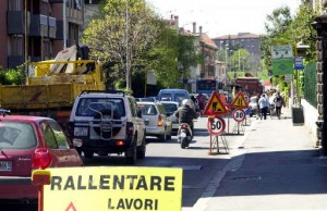 Cantieri stradali (foto Nadipress)