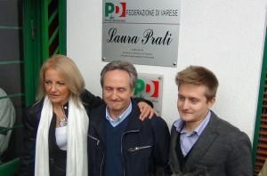 Erica D'adda tra con Pino e Massimo