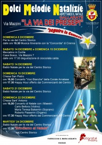 Natale a gallarate tutti gli appuntamenti varese7press for Mercatino gallarate