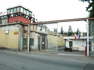 L'ingresso carcere Miogni di Varese