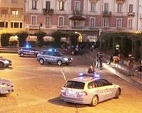Polizia in Piazza Repibblica