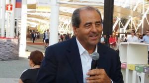 Antonio Di Pietro oggi a Expo