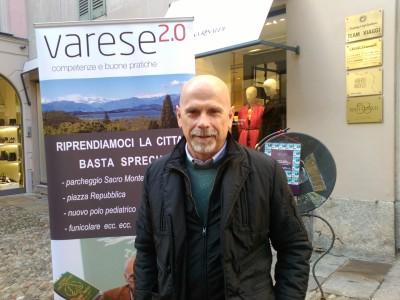 Daniele Zanzi oggi in Corso Matteotti