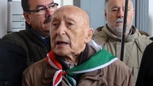 L'ex partigiano varesino Angelo Chiesa