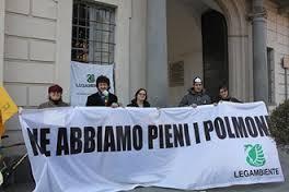 Una delle numerose iniziative messe in atto da Legambiente Varese