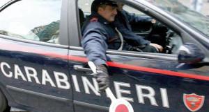 carabinieri arresto auto