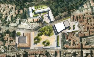 Il progetto vincitore per Piazza Repubblica