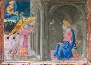 """""""L'Annunciazione"""" di Apollonio Di Giovanni"""