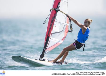 Flavia Tartaglini Credit Pedro Martinez/Sailing Energy/ Isaf