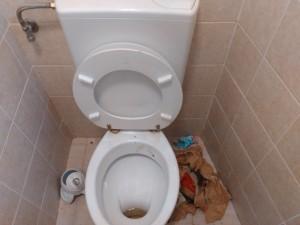 Come abbiamo trovato sabato uno dei bagni