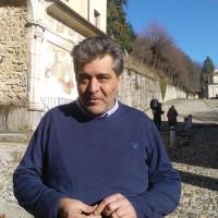 Stefano Malerba oggi al Sacro Monte