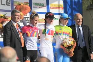 Mario Minervino e Renato Di Rocco sul podio del Trofeo Bind 2014