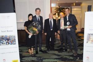 Premiazione Ivan Basso 27 febbraio 2016