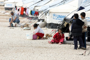 Campo profughi siriani