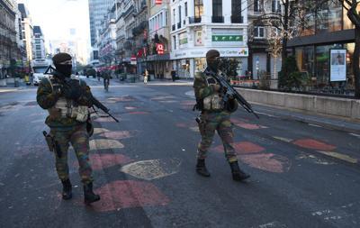 Bruxelles police (Afp)