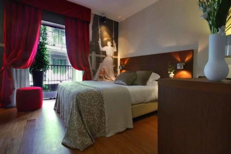 Hotel Milano Scala, camera da letto