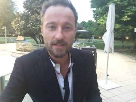 Francesco Facchinetti ieri a Milano