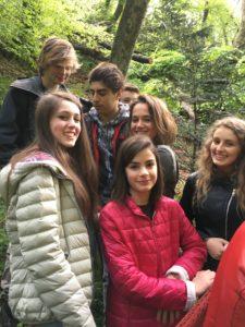 Studenti del LIceo Cairoli
