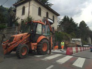 Passaggio pedonale via Mazzini
