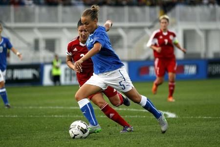 Valentina Cernoia in azione