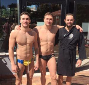 Da sinistra: Edoardo Di Somma, Giacomo Bini, Tommaso Busilacchi