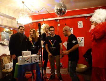 Gli organizzatori del Varese Pride varesino