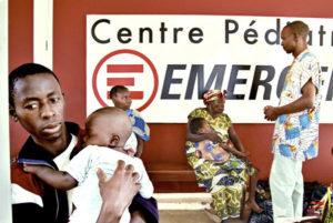 Il centro di Emergency a Bangui