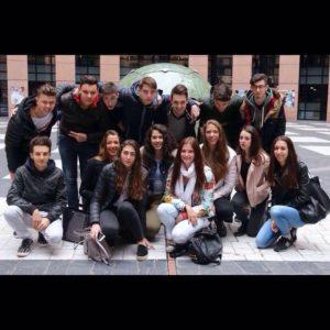 Studenti de Fiorini a Strasburgo