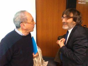 Tullio Pericoli e Roberto Cotroneo