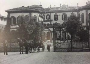 Il Grand Hotel Excelsior ora sede della Provincia