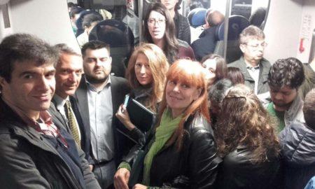 Luca Marsiico tra i pendolari