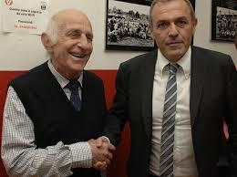Peo Maroso con Fabrizio Castori