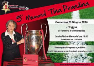 5 memorial tina prandina - Locandina - no cena