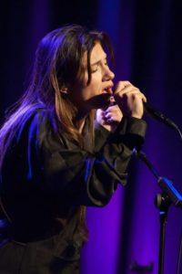 Elisa sul palco