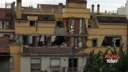 Esplosione via Brioschi - Foto Valerio Minotti-2