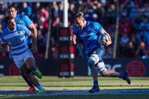 Un momento della partita (photo by Pablo Gasparini/Gaspafotos/FIR)