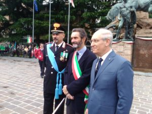 Il sindaco Fontana con il prefetto Zanzi