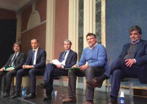 I cinque candidati sindaco a Varese