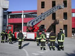 La caserma vigili del fuoco di Varese