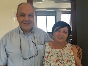 Carlo Ercolino e Anna Bressanone