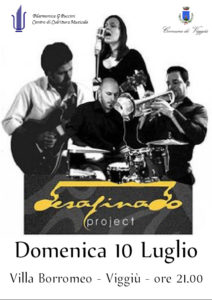 Concerti musica in Villa 2016 Desafinado
