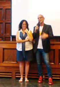 Daniela Colonna Preti con Roberto Bof