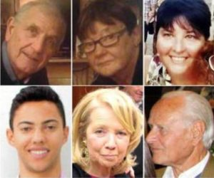 Le sei vittime