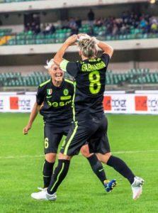 esultanza gabbiadini champions