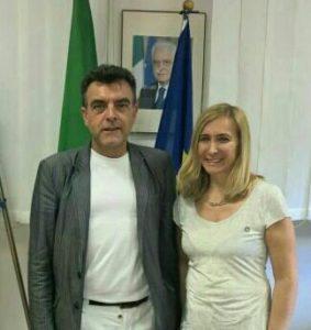 Vincenzo Mita e Alessandra Castelli